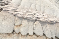 Texturas de la erosión Imagen de archivo libre de regalías