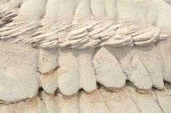 Texturas de la erosión Foto de archivo