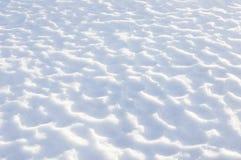 Texturas de la nieve Fotos de archivo libres de regalías