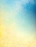 Texturas de la nube del gradiente Foto de archivo libre de regalías