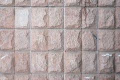 Texturas de la pared de piedra Foto de archivo libre de regalías