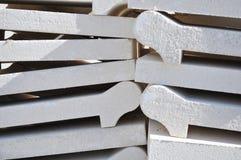 Texturas de los materiales de construcción Fotos de archivo