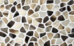 Texturas de mármore, colagem das telhas de mosaico fotografia de stock