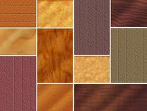 Texturas de madeira Imagem de Stock Royalty Free