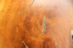 Texturas de madeira da tabela Foto de Stock Royalty Free