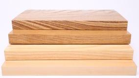 Texturas de madeira diferentes Fotos de Stock Royalty Free