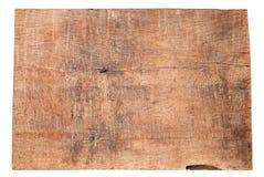 Texturas de madeira velhas das pranchas isoladas no fundo branco imagem de stock