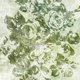 Texturas de papel florales Fotografía de archivo