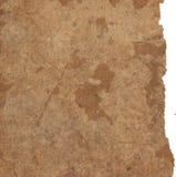 Texturas de papel velhas isoladas no branco imagem de stock royalty free