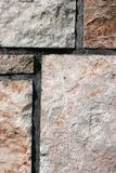 Texturas de pedra Fotografia de Stock