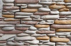 Texturas de pedra do fundo Pedra dianteira decorativa fotografia de stock royalty free