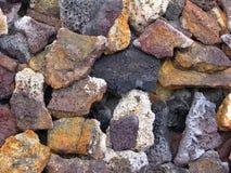 texturas de pedra na terra para recursos gráficos foto de stock