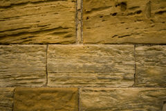 Texturas de piedra de la abadía de Whitby Fotos de archivo