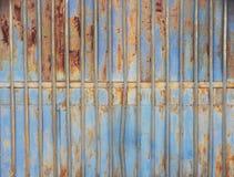 Texturas de uma cerca do ferro fotos de stock