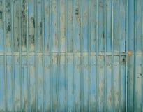 Texturas de uma cerca do ferro imagens de stock