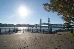 Texturas de un puente Fotos de archivo