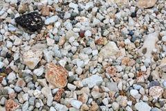 Texturas del fondo de las piedras del mar foto de archivo