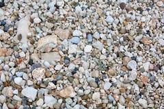 Texturas del fondo de las piedras del mar fotos de archivo