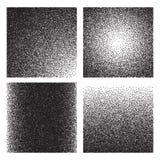 Texturas del grano La pendiente del bosquejo imprimió efecto granoso Fondos de semitono del grunge del ruido de la arena libre illustration