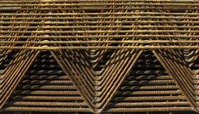 Texturas del Rebar Fotografía de archivo libre de regalías