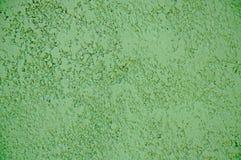 Texturas del yeso decorativo Textura del yeso decorativo Fondo del color verde foto de archivo