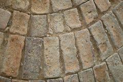 Texturas do caminho de pedra imagem de stock