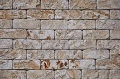 Texturas do fundo de uma pedra Pedra dianteira decorativa foto de stock royalty free