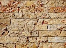 Texturas do fundo de uma pedra Pedra dianteira decorativa imagens de stock