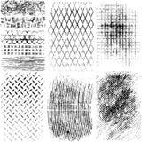 Texturas do material do Grunge Fotografia de Stock Royalty Free