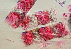 Texturas do ofício da criança Fotografia de Stock Royalty Free