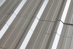 Texturas do telhado do metal. Imagens de Stock Royalty Free