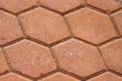 Texturas do tijolo Fotografia de Stock