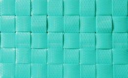 Texturas e fundo plásticos verdes da cestaria fotos de stock