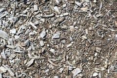 Texturas e fundos abstratos: Vegetação rasteira/palha de canteiro da casca Imagem de Stock