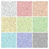 Texturas e fundos coloridos ajustados do pixel Imagens de Stock