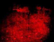 Texturas e fundos da melodia de Grunge Imagens de Stock Royalty Free