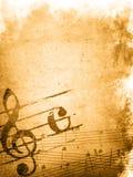 Texturas e fundos da melodia de Grunge ilustração royalty free