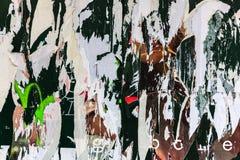 Texturas e fundos velhos do grunge dos cartazes Fotos de Stock