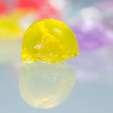 Texturas e testes padrões abstratos de bolas quebradas da geleia Foto de Stock