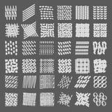 Texturas en fondo del grau Foto de archivo