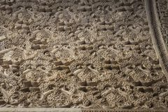 Texturas en monumentos de Sevilla fotos de archivo