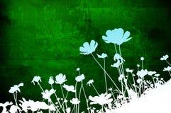 Texturas florais ilustração royalty free