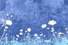 Texturas florais Foto de Stock