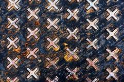 Texturas industriais no esgoto fotografia de stock