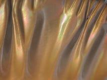 Texturas metálicas coloreadas oro Foto de archivo