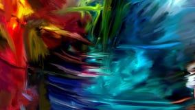 Texturas misturadas coloridas Foto de Stock