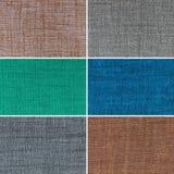 Texturas multicoloras fijadas Foto de archivo libre de regalías