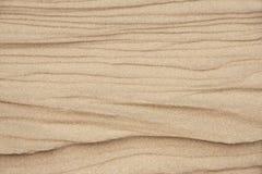 Texturas na areia da praia Imagem de Stock