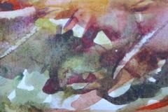 Texturas pintadas abstratas do fundo Fundo colorido abstrato foto de stock royalty free