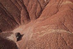 Texturas pintadas de las colinas Fotografía de archivo libre de regalías